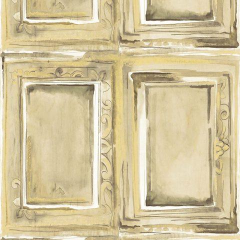 View Salon – Green/Gold