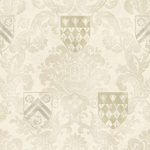 View The Dean's Damask – Cream