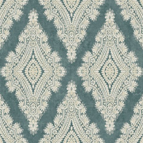 View Bellano – Teal/Light Taupe
