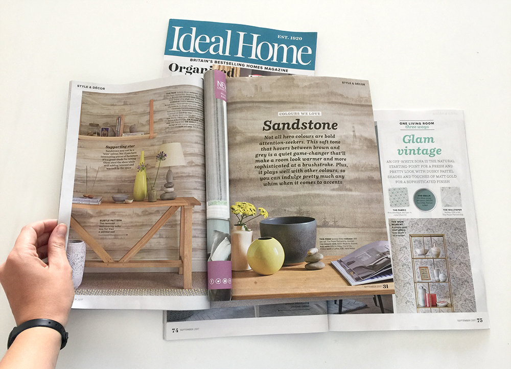 As seen in Ideal Home Magazine