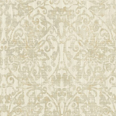 View Hurst Damask – Cream