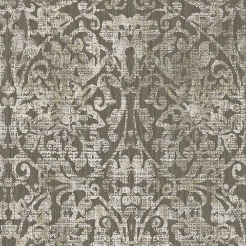 View Hurst Damask – Dark Chocolate