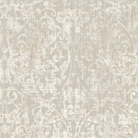 View Hurst Damask – Warm Grey