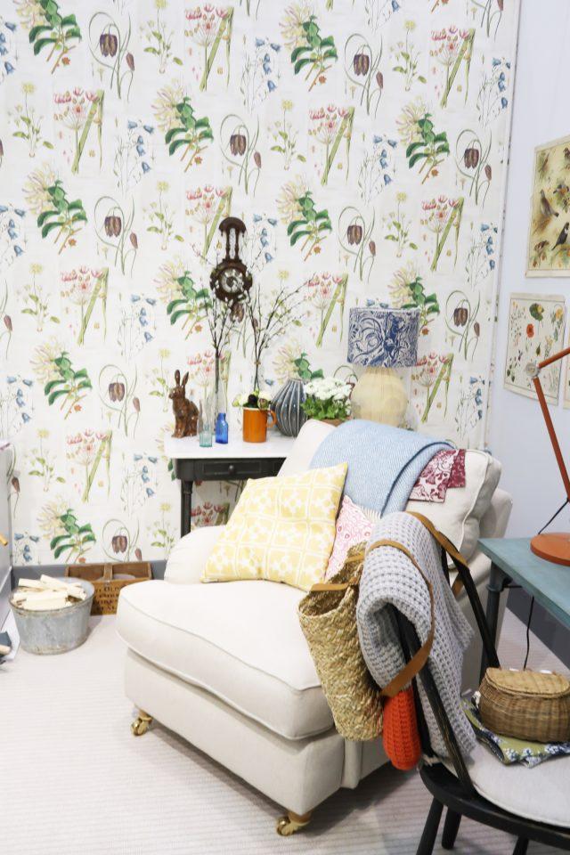 Baxter Wallpaper, Country Living Fair