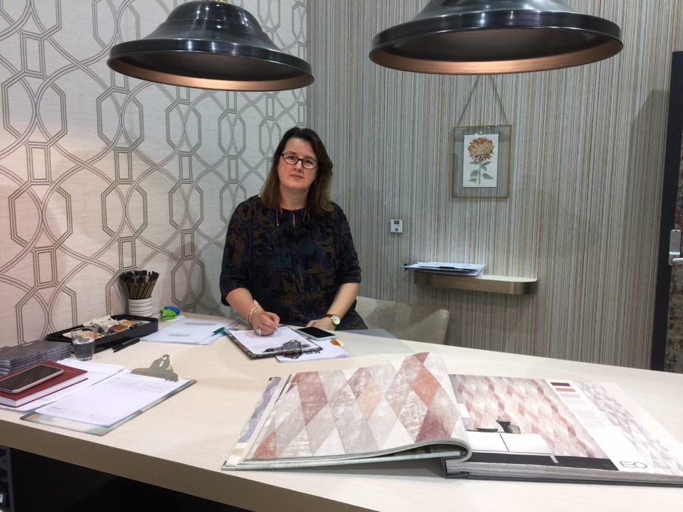 Elizabeth, Creative Director, The Paper Partnership, Wallpaper
