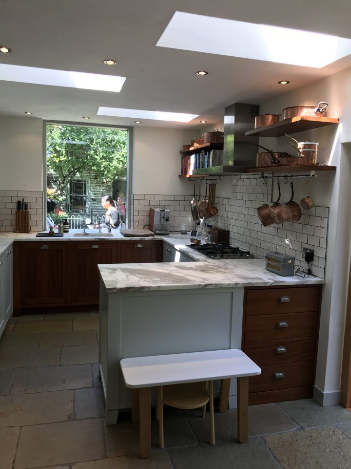Kitchen, Light, Copper, Summerhouse, Living Etc, London