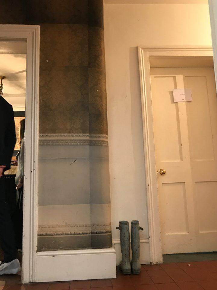 Dado rail, wallpaper, Living Etc House Tours, London, Interiors