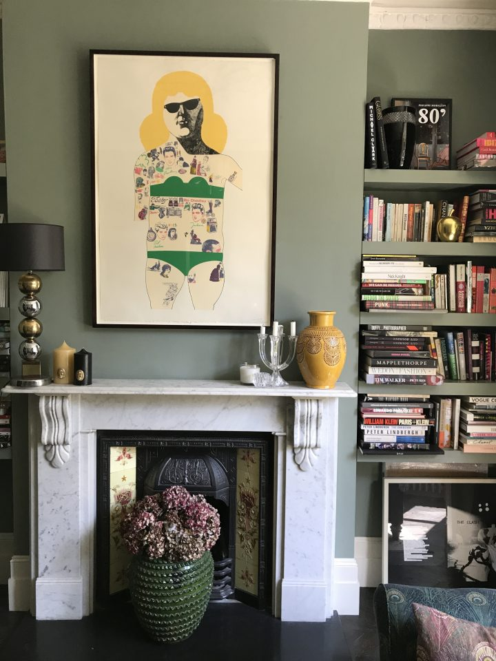 Peter Blake, Mantelpiece, Colour, Soft, Muted