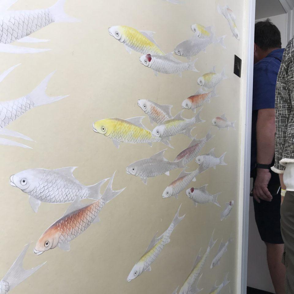 Carp, Fish, Wallpaper, Living Etc, London