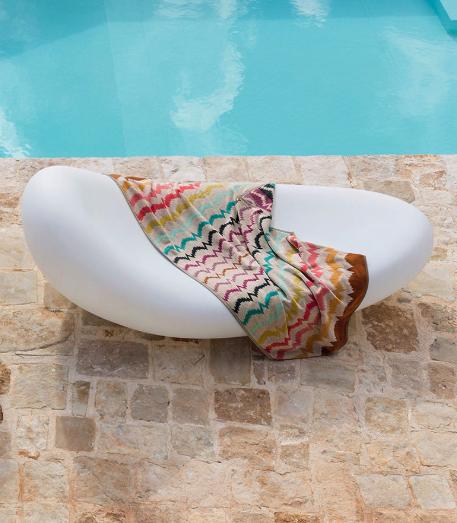 Missoni Vera beach towel